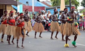 A dance from The Kamoros