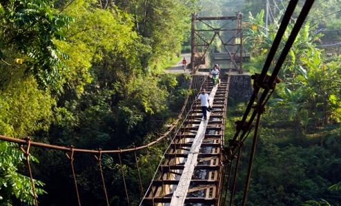"""The """"bridge"""" that connected Plempungan and Suro Village"""